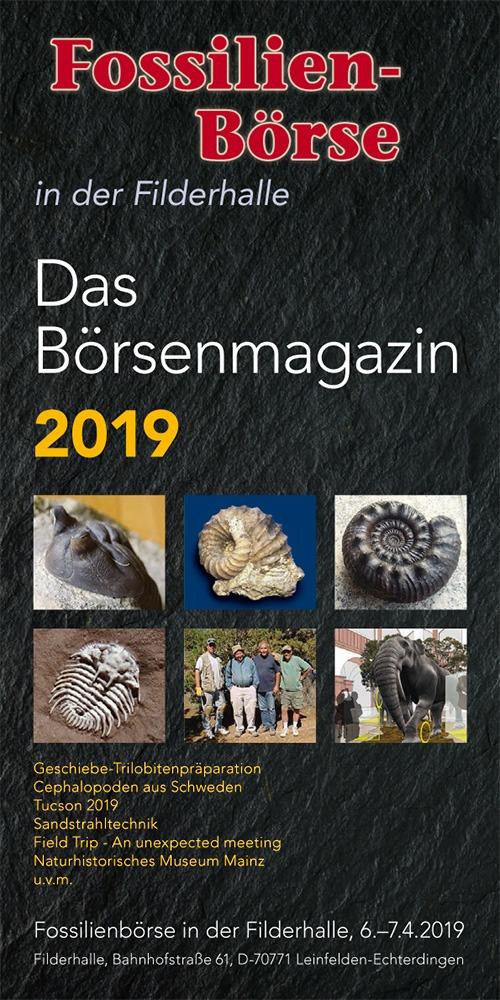 Börsenmagazin der Fossilen-Börse 2019