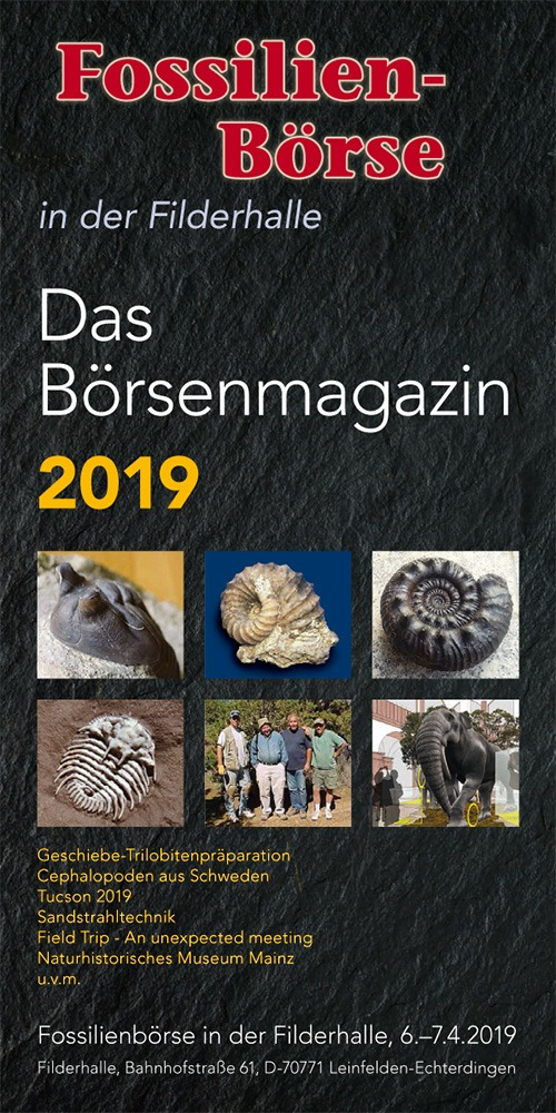 Fossil Show Magazine 2019 - Cover