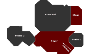 Overview of the Fossil Show Location