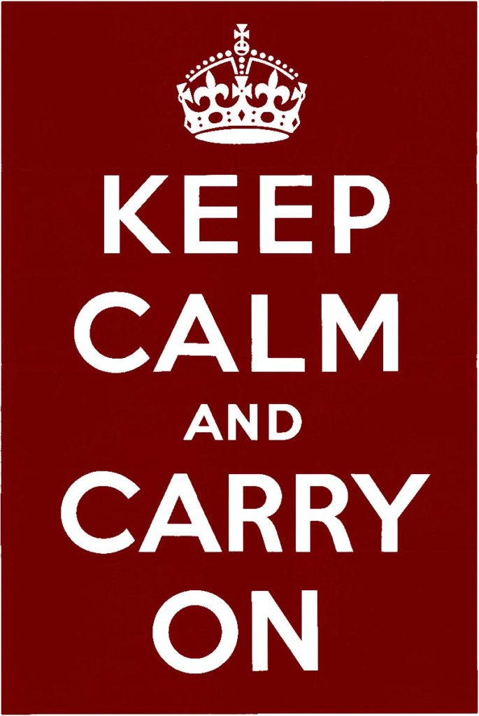 """Fossil Show """"Fossilien-Boerse"""" 2020 is not canceled. - Keep calm and carry On."""